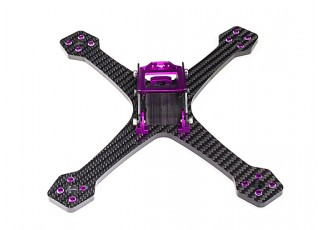 Diatone 2017 GT200S Stretch FPV Racing Drone Frame Kit (Violet) View 3