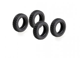 WL Toys K989 1:28 Scale Rally Car - Replacement Rally Tires K989-53 (4pc)