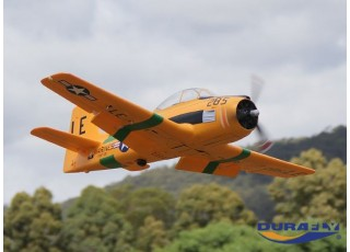 Durafly™ T-28 Trojan 1100mm V2 (PNF) - Flying underside