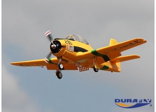 Durafly™ T-28 Trojan 1100mm V2 (PNF) - flying undecarriage down