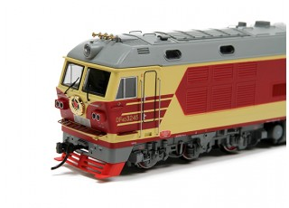 DF4DK Diesel Locomotive HO Scale (DCC Equipped) No.3 4