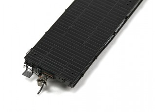 NX17K Flat Car (HO Scale - 4 Pack) Set 1 coupling detail