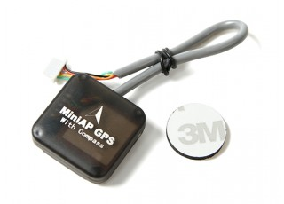 SCRATCH/DENT - Ublox 7 Series Nano MiniAP GPS with Compass for Mini APM