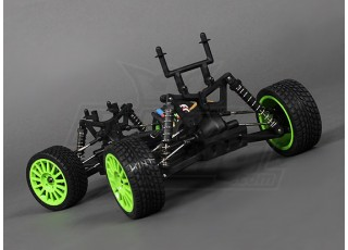 1/16 Brushless 4WD Mini Rally Car Top Off 2