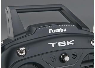Futaba 6K V2 8-Channel 2.4GHz Computer Radio System (Mode 2) - top