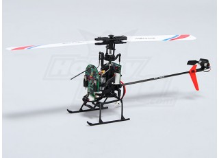 Solo PRO 100 3G Flybarless 3D Micro Helicopter frame