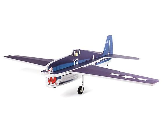 H-King F6F Hellcat - Glue-N-Go - 5mm Foamboard PP 975mm (Kit)