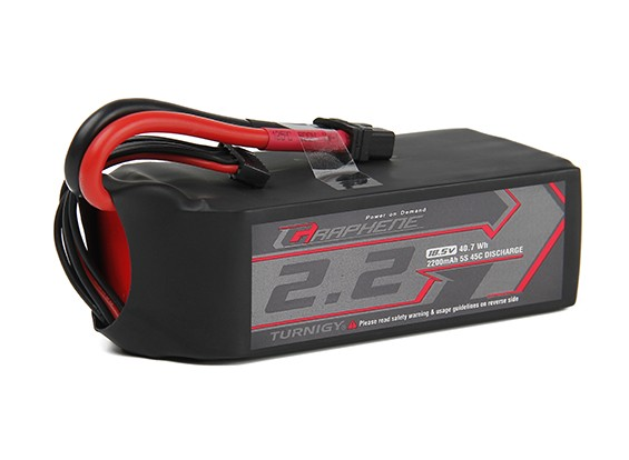 Turnigy Graphene 2200mAh 5S1P 45C Lipo Battery