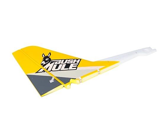 Avios BushMule - Vertical Tail w/Stickers (Yellow/Grey)