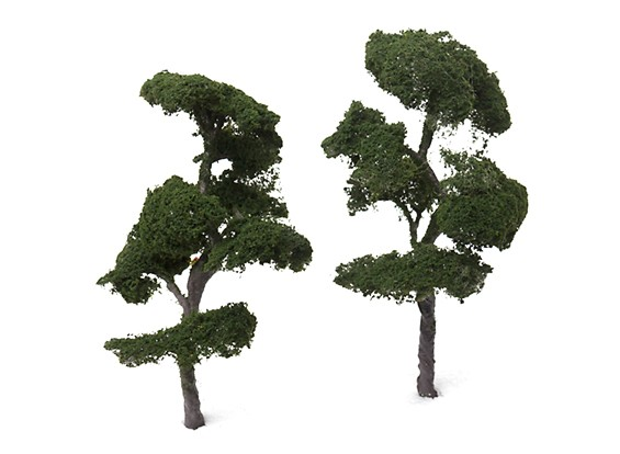 HobbyKing™ 140mm Scenic Wire Model Trees NW189-140 (2 pcs)
