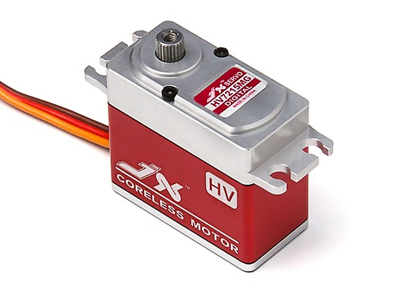 JX PDI-HV7215MG High Voltage High Speed Coreless Metal Gear Servo 15.83kg/0.095sec/72g