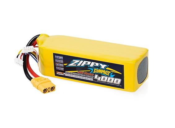 ZIPPY Compact 4000mAh 7S 25C Lipo Pack With XT90