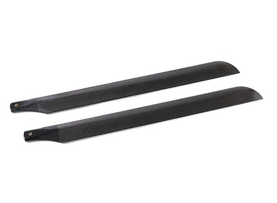 520mm TIG fibra de carbono principal Cuchillas