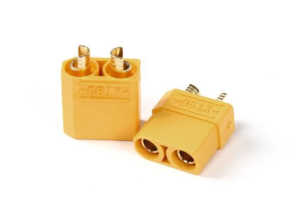 Nylon XT90 conectores macho / hembra (5 pares)