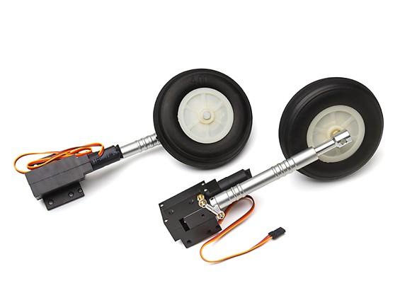 Turnigy Full Metal Servoless 90 grados torcedura n / Turn ruedas retrae / de la pierna 1.20 tamaño (P-40)