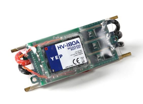 Hobbyking YEP 180A HV (4 ~ 14S) regulador de la velocidad sin escobillas Marina (Opto)