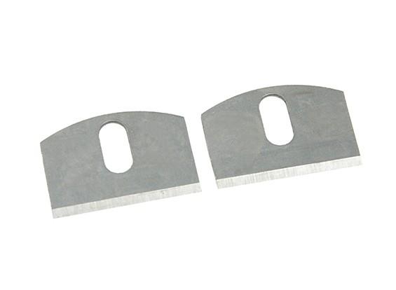 Zona de precisión Spoke Shave Hojas de repuesto (2 unidades)