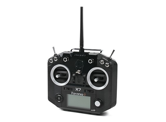 FrSky Taranis Q X7 Digital Telemetry Radio System 2.4GHz ACCST (Black-no plugs) (EU Version)