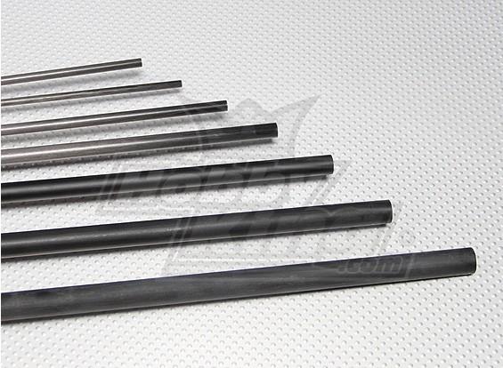 De carbono varilla de fibra (sólido) 2.5x750mm