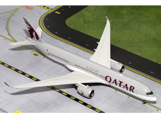 Gemini Jets Qatar Airways Airbus A350-900 A7-ALB 1:200 Diecast Model G2QTR557