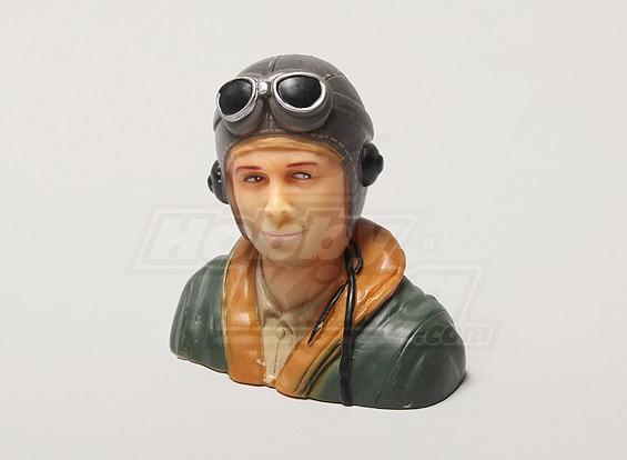 WW2 / clásico de la era piloto (H66 x W66 x D35mm)
