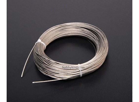 1,5 mm de alta tracción de alambre de acero (1 Mtr)