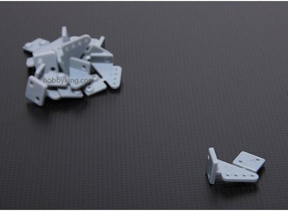 Pin cuernos L20xW15xH11.52 (4 agujeros) 10pcs / set