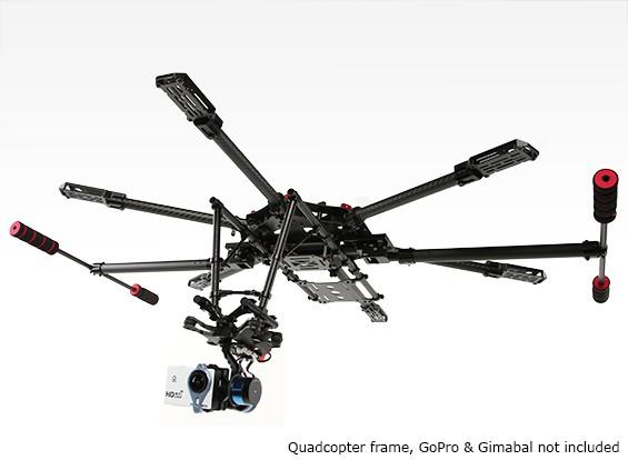 Quanum retráctil Gear Set para la 680UC Pro Hexa-Helicóptero