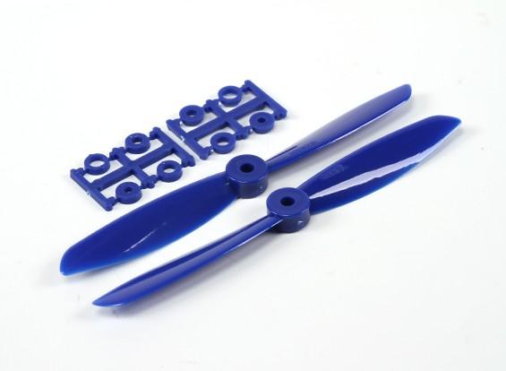 6045 Eléctrico Hélices (CW y CCW) Azul 1 par / bolsa