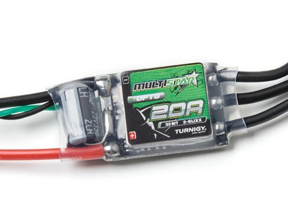 Turnigy Multistar 32 bits 20A Race Spec ESC 2 ~ 6S (OPTO)