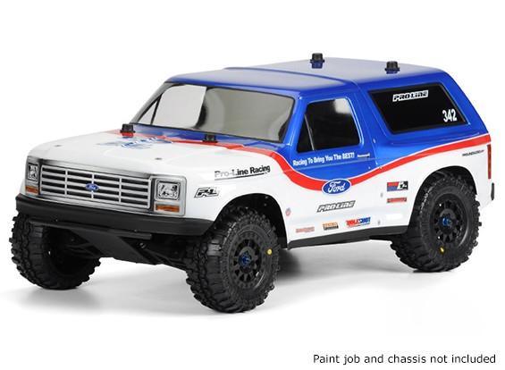 Pro-Line 1/10 Escala 1981 Ford Bronco Cuerpo limpio de corta grueso Camiones