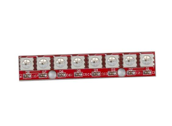 Keyes usable 2812 5050 Módulo LED RGB del color 8 Full LED
