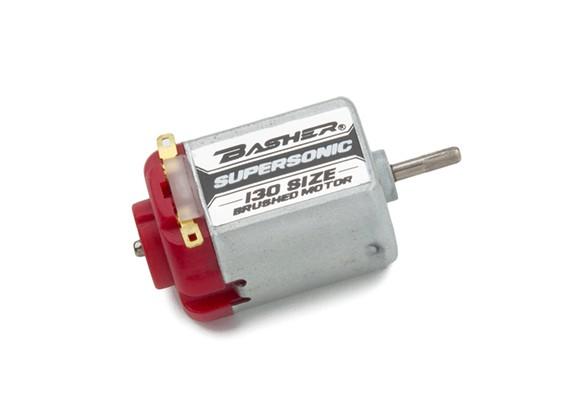 Basher Supersonic 130 Tamaño del motor cepillado (rojo)