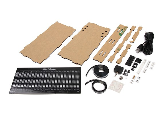 AS1424 Música espectro que destella kit DIY LED