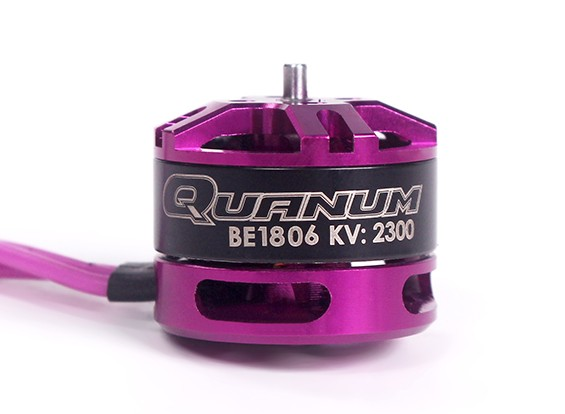 Quanum BE1806-2300kv Race Edition motor sin escobillas 3 ~ 4S (CW)