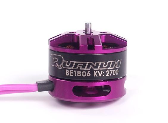 Quanum BE1806-2700kv Race Edition motor sin escobillas 3 ~ 4S (CW)