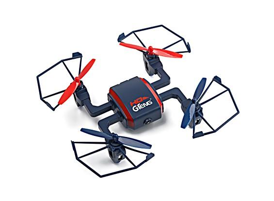 Araña T901C w / 720P HD de control de la cámara 2.4G 4 ejes Gyro RTF aviones no tripulados