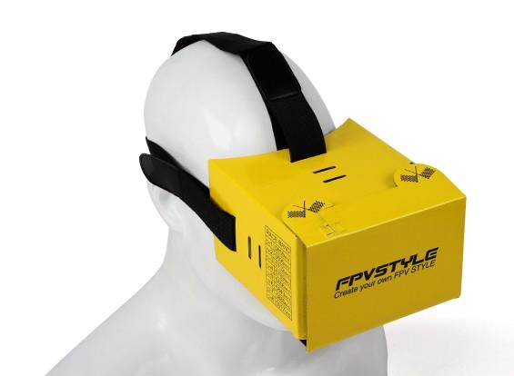 FPVSTYLE cartón DIY FPV Headset (Kit)