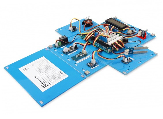 Arboleda Kit Ambiente Interior para Intel® Edison