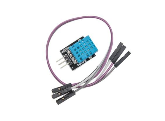 Kingduino de temperatura y sensor de humedad con cable