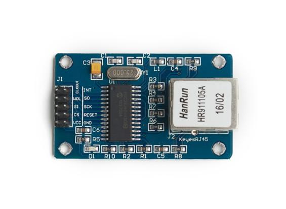 Módulo Ethernet ENC28J60 para Kingduino