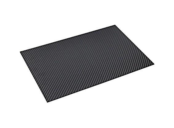 Lámina de fibra de carbono de 300 x 200 x 2 mm