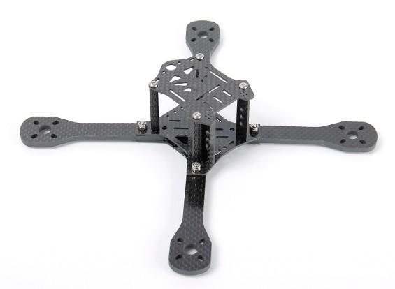 Kim 195x fibra de carbono FPV que compite con aviones no tripulados (Juego de Estructura)