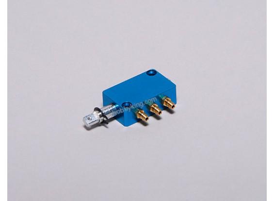 Aire conmutador accionado (3 vías de suministro)