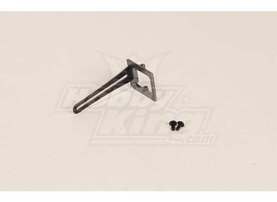 GT450PRO metal y carbono anti-rotación del soporte