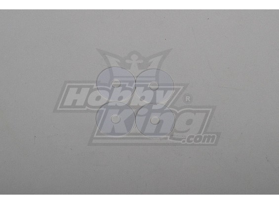 cuchillas principales POM arandela de tamaño 90 5x20x0.5mm heli (4pcs)