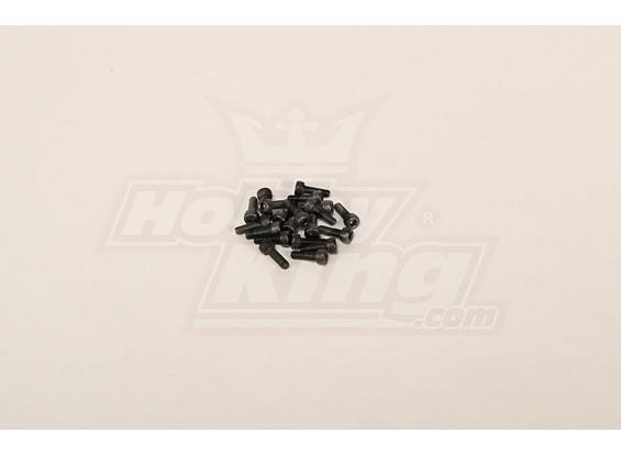 Tornillo hexagonal M4x12 (20 PC)