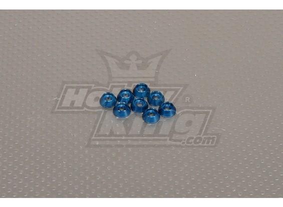 CNC Cap Arandela M3 (3,5 mm) Dark Blue