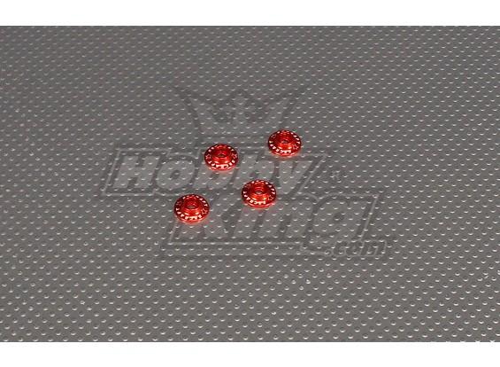 CNC con bridas Lavadora 3.0 (M3, nº 4 de 40) Rojo