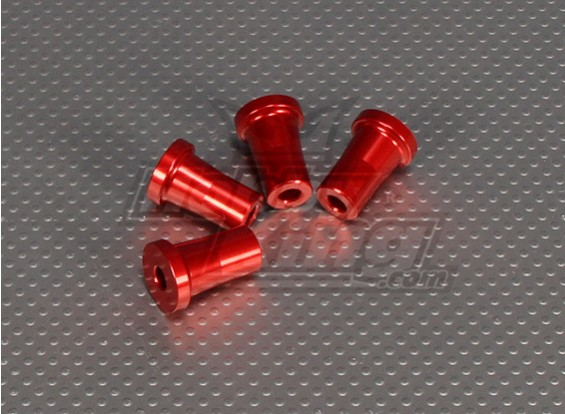 CNC Standoff 25 mm (M5) Red